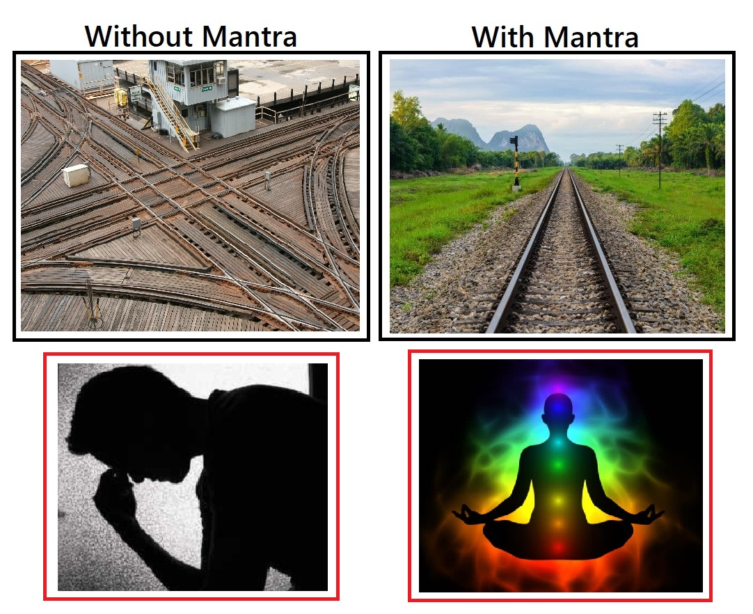 बिना बीज मंत्रो के जीवन – मंत्रो के साथ जीवन – Life without Beej Mantras – Life with Mantras